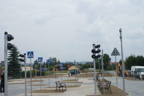 DSC05979 1 500x335 Miasteczko ruchu drogowego w Chełmcu