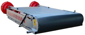 z ukladem pionujacym 5 300x125 Panel with system to rotate warning lamps