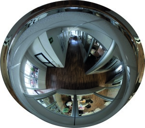 Cupola two inner mirrors 300x264