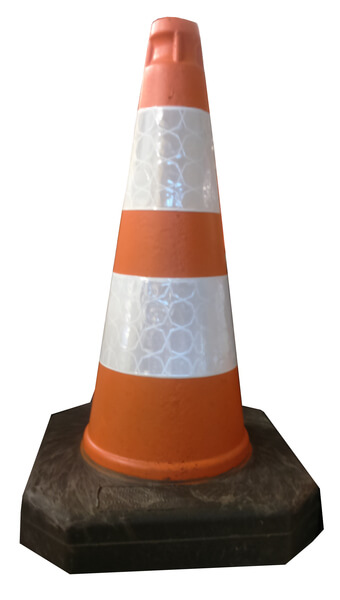Melba traffic cone 50 cm cones road height: 50 cm