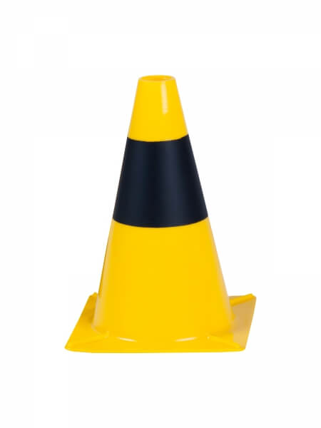 pachoĹ,ek 30 cm yellowish black Traffic cones height 30 cm