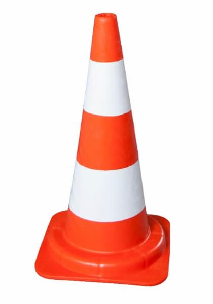 cone 54 cm pvc cones road height: 50 cm
