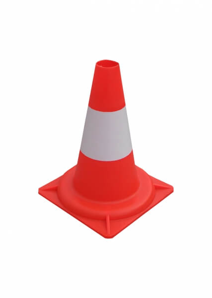 Cone traffic cones 34 cm height 30 cm