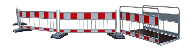 podest z barierami Road barriers and footbridges U 28