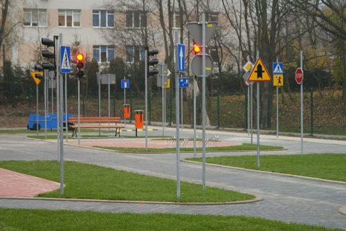 miasteczko rowerowe limanowa 13 1 500x334 Miasteczko ruchu drogowego w Limanowej