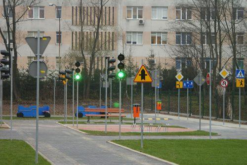 miasteczko rowerowe limanowa 14 1 500x334 Miasteczko ruchu drogowego w Limanowej