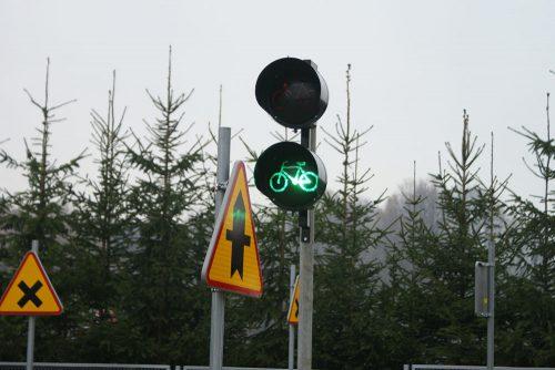 miasteczko rowerowe limanowa 18 1 500x334 Miasteczko ruchu drogowego w Limanowej