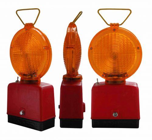 żółta x 500x458 Lampy Ostrzegawcze Diodowe – bateryjne Φ185