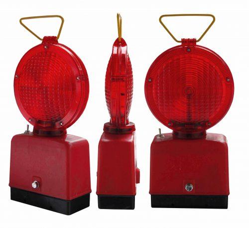 czerwona 2 x 500x458 Lampy Ostrzegawcze Diodowe – bateryjne Φ185