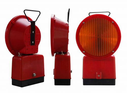 L8L and L8G 500x366 LED Warning Lamps - Battery Φ200