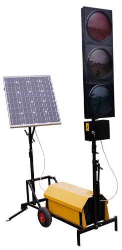 z zasilaniem solarnym 245x500 Zasilanie solarne w drogownictwie