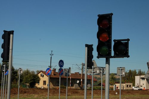 miasteczko rowerowe Bobowa 4 500x333 Miasteczko ruchu drogowego