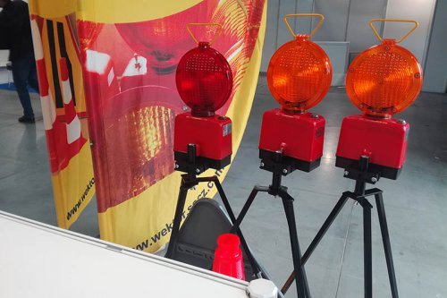 stojak na znaki4 500x333 Sign and lamp stand