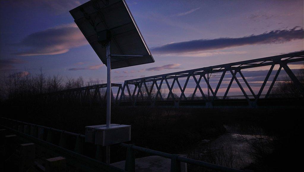 sygnalizacja wahadlowa most bronislaw3 1024x578 Montaż sygnalizacji wahadłowej w Gminie Miedźna