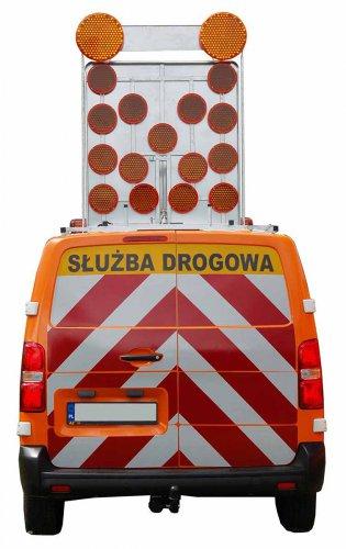 panel na samochod z ukladem pionujacym pulsatorow 315x500 Panel na samochód z układem pionującym pulsatorów, ZKD (\/) SLIM