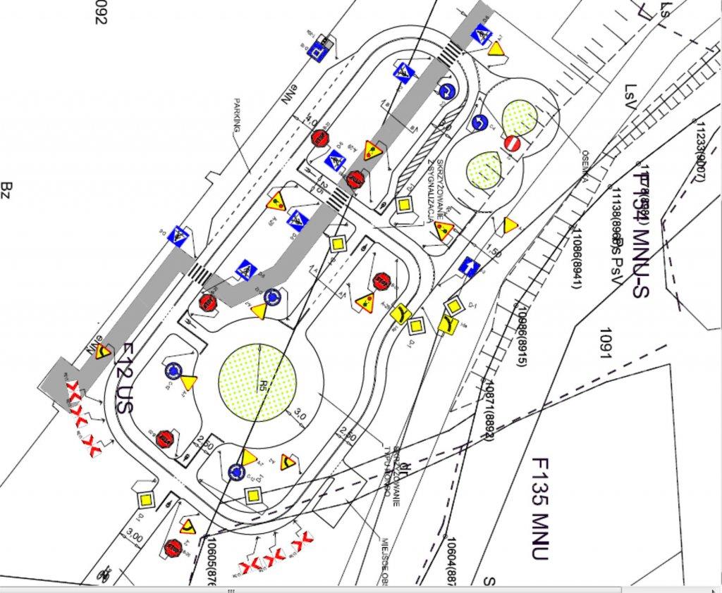 Przyszowa 2 1024x842 Educational traffic lights in Przyszowa   Poland