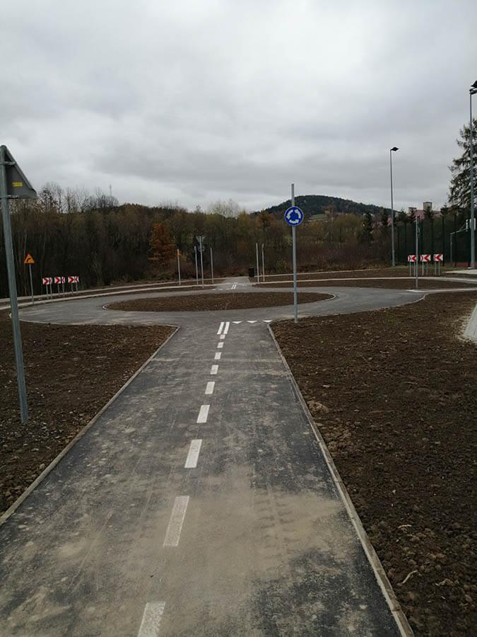 przyszowa1 Miasteczko ruchu drogowego w Przyszowej
