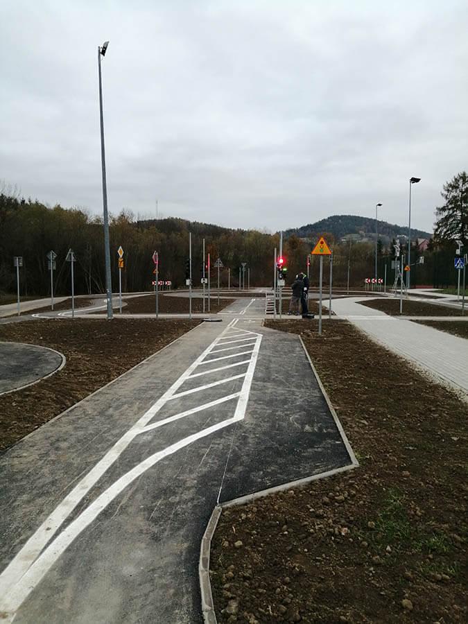 przyszowa3 1 Educational traffic lights in Przyszowa   Poland