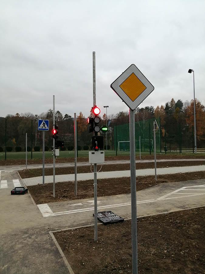 przyszowa7 1 Educational traffic lights in Przyszowa   Poland