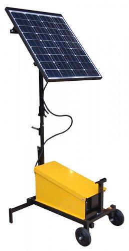 niezalezny zestaw solarny 2 257x500 Zasilanie solarne w drogownictwie
