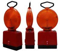 pomaranczowa 2 stronna 200x173 Lampy Ostrzegawcze Diodowe – bateryjne Φ185